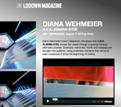 DianaWehmeier USSPLASMA8105 and PLASMAmagazine at lodown magazine 2015