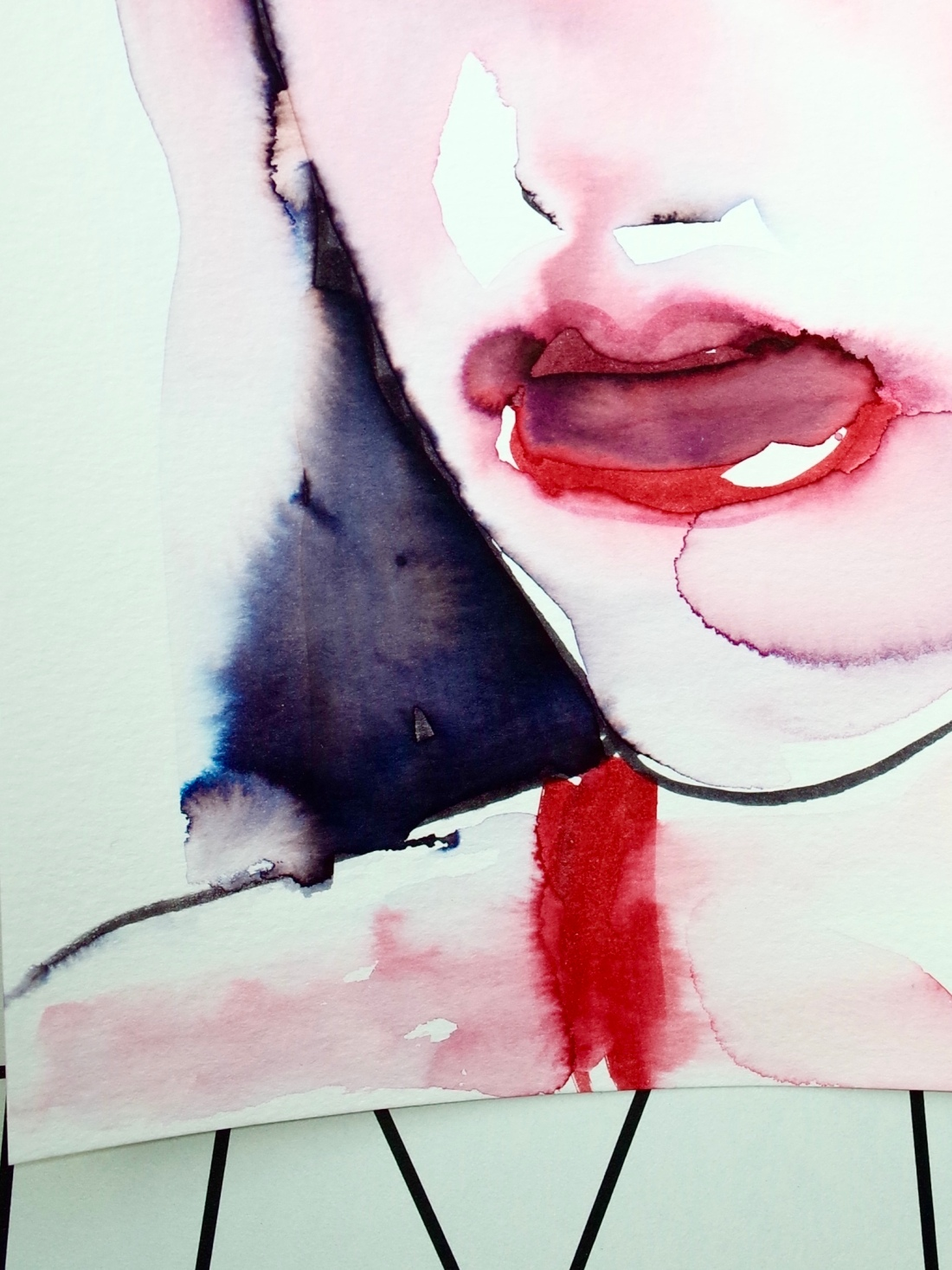 Diana Wehmeier watercolor teaser